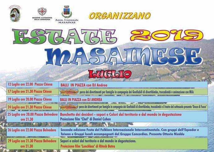Estate Masainese 2019
