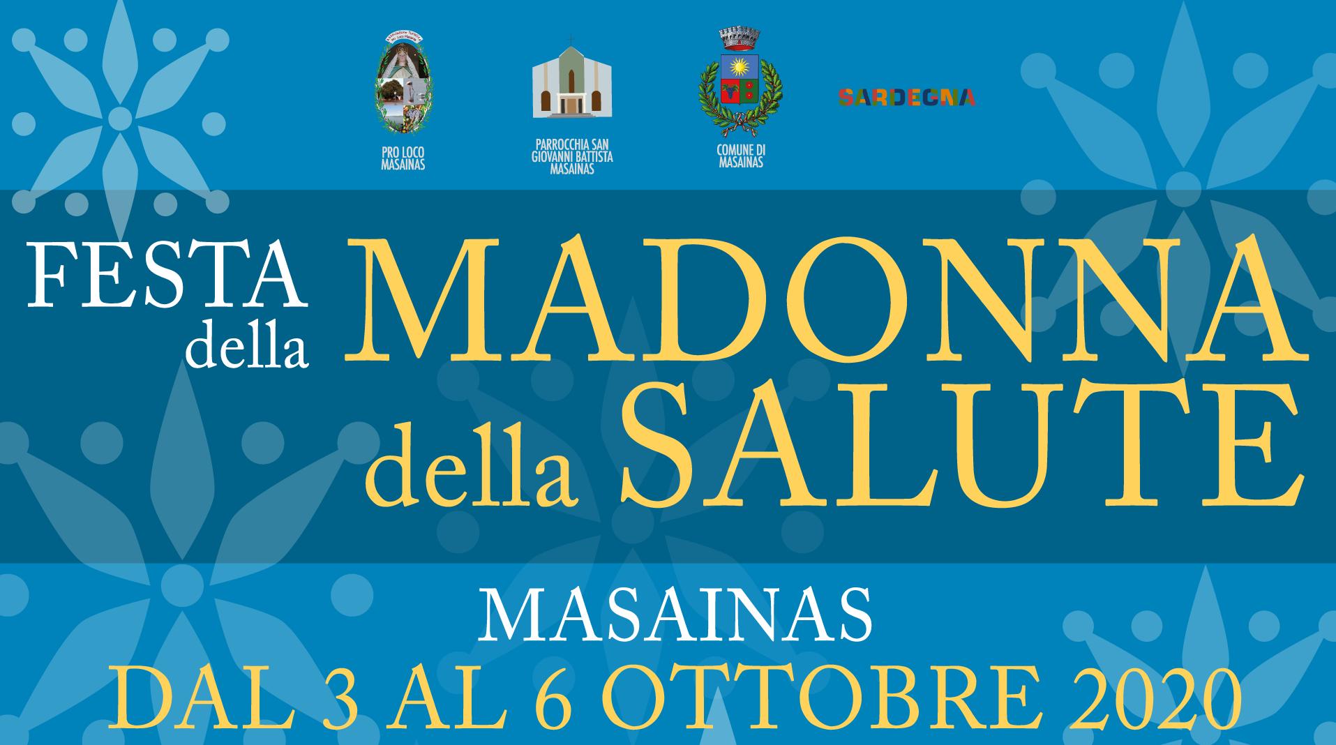 Festa Madonna della Salute 2020 – Masainas Turismo